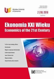 Ekonomia XXI Wieku 2(18)