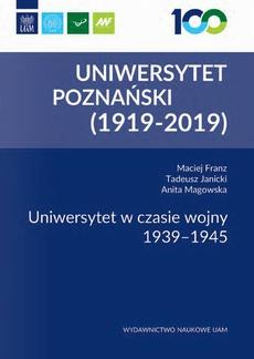 Uniwersytet w czasie wojny 1939-1945