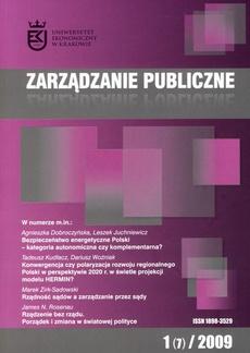 Zarządzanie Publiczne nr 1(7)/2009