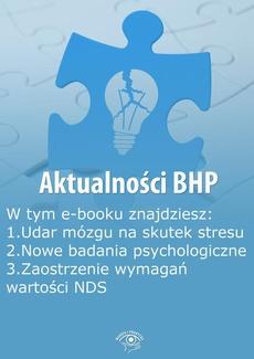 Aktualności BHP, wydanie wrzesień 2014 r.