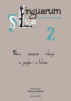 Linguarum Silva. T. 2: Słowo - znaczenie - relacja w języku i w tekście - 11 Rozmowa człowieka ze Śmiercią – motyw, temat, topos?