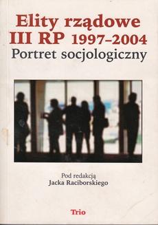 Elity rządowe III RP 1997-2004