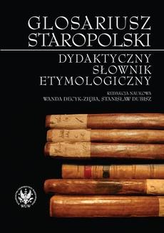 Glosariusz staropolski