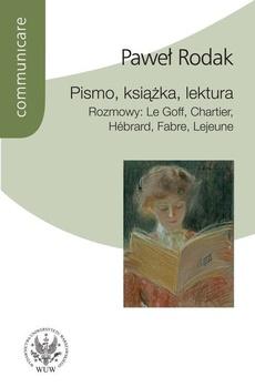 Pismo, książka, lektura