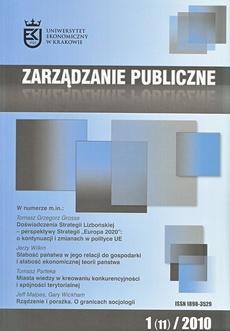 Zarządzanie Publiczne nr 1(11)/2010