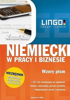 Niemiecki w pracy i biznesie Wzory pism