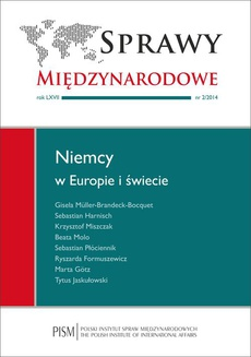 Sprawy Międzynarodowe nr 2/2014 - Nowa polityka bezpieczeństwa i obrony Niemiec
