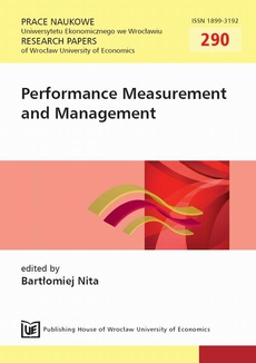 Performance Measurement and Management. PN 290