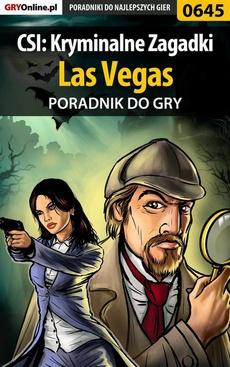 CSI: Kryminalne Zagadki Las Vegas - poradnik do gry