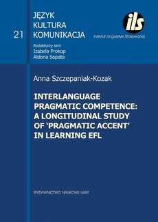 Interlanguage programic competence: a longitudinal study of 'pragmatic accent' in learning EFL