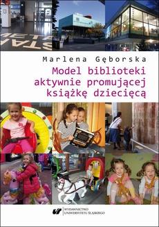 Model biblioteki aktywnie promującej książkę dziecięcą