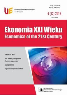 Ekonomia XXI Wieku 4(12)