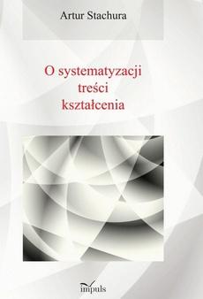 Pedagogika O systematyzacji treści kształcenia