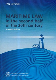 Maritime Law in the second half of the 20th century