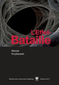 L'Effet-Bataille - 05 Politiques de la littérature