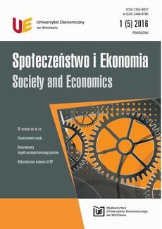 Społeczeństwo i Ekonomia 1(5)