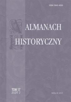 Almanach Historyczny, t. 17, z. 2