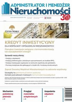 Administrator i Menedżer Nieruchomości 9/2018