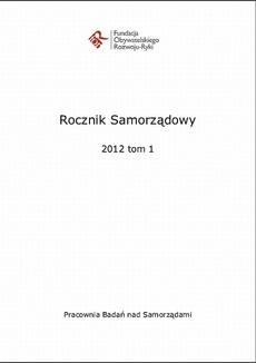 Rocznik Samorządowy 2012 tom 1