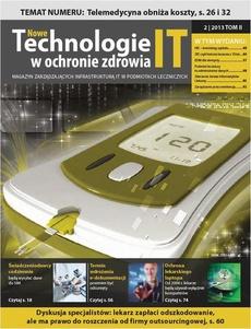 Nowe Technologie IT w Ochronie Zdrowia 2 / 2013 TOM II
