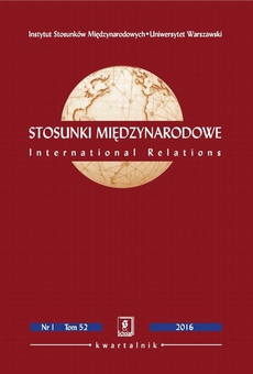 Stosunki Międzynarodowe nr 1(52)/2016 - Irena Popiuk-Rysińska: Od orędzia Roosevelta do Celów Zrównoważonego Rozwoju 2030. Kwestia rozwoju na forum Narodów Zjednoczonych