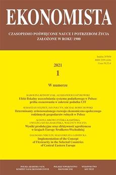 Ekonomista 2021 nr 7 - Endogenous Social Progress as a Source of Economic Growth