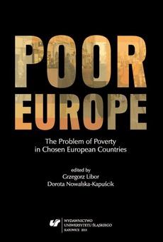 Poor Europe - 01 Belgium