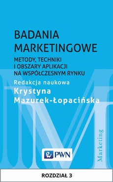 Badania marketingowe. Rozdział 3