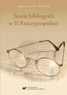 Teoria bibliografii w II Rzeczypospolitej - 04 Teoria rodzajów bibliografii