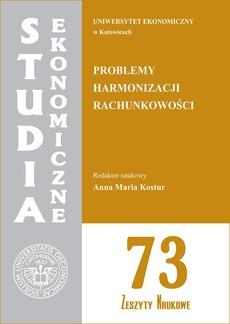 Problemy harmonizacji rachunkowości. SE 73