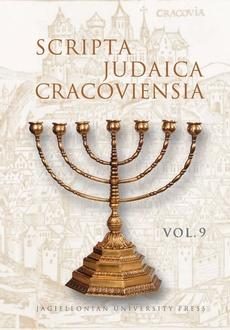 Scripta Judaica Cracoviensia, vol. 9