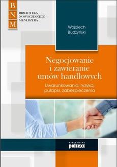 Negocjowanie i zawieranie umów handlowych
