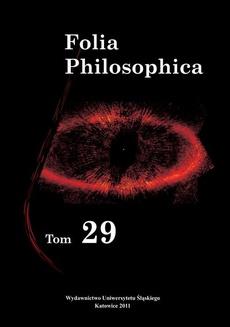 Folia Philosophica. T. 29