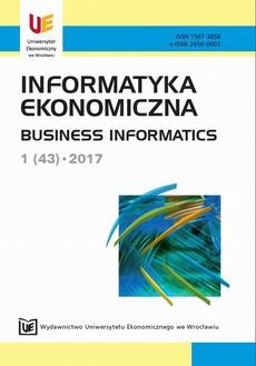 Informatyka Ekonomiczna 1(43)