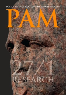 Polish Archaeology in the Mediterranean 27/1