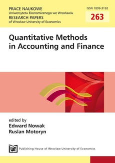 Quantitative Methods in Accounting and Finance