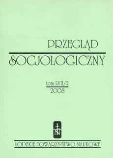 Przegląd Socjologiczny t. 57 z. 2/2008