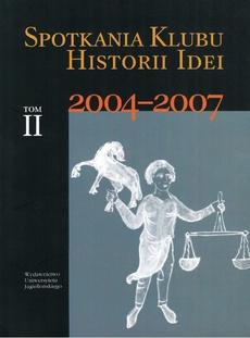 Spotkania Klubu Historii Idei t. II
