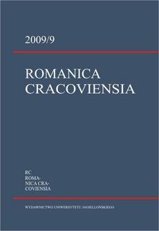 Romanica Cracoviensia 2009 / 9