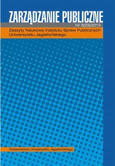 Zarządzanie Publiczne 3 (23) 2013