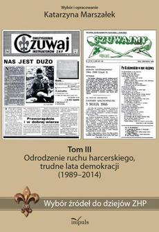 Wybór źródeł do dziejów ZHP Tom 3