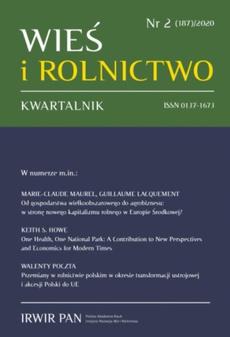 Wieś i Rolnictwo nr 2(187)/2020
