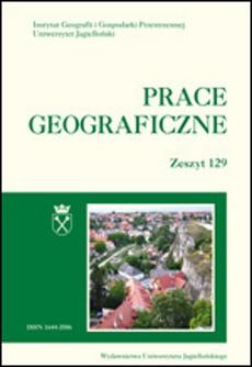 Prace Geograficzne vol 129 (2012)