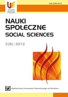 Nauki Społeczne 2(6)