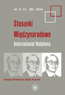 Stosunki międzynarodowe. International Relations 2014/2 (50)