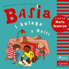 Basia i kolega z Haiti