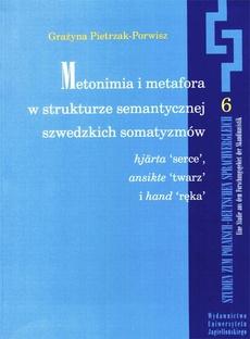Metonimia i metafora w strukturze semantycznej szwedzkich somatyzmów hjärta ('serce'), ansikte ('twarz'), i hand ('ręka')