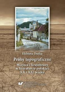 Próby topograficzne - 08 Pytania o Europę zwaną Środkową w pisarstwie Andrzeja Stasiuka