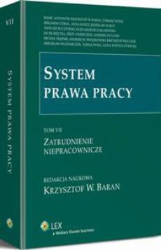 System prawa pracy. TOM VII. Zatrudnienie niepracownicze