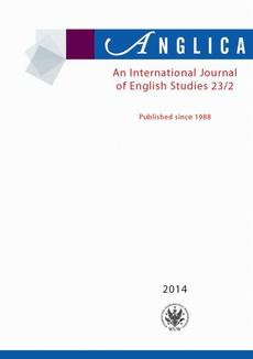 Anglica. An International Journal of English Studies 2014 23/2